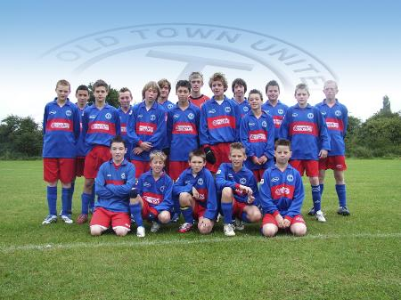 Old Town United under 14B team