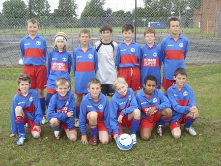 Old Town Utd under 11's