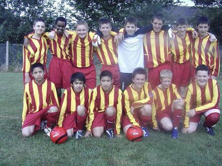South Swindon U15's Team Photo