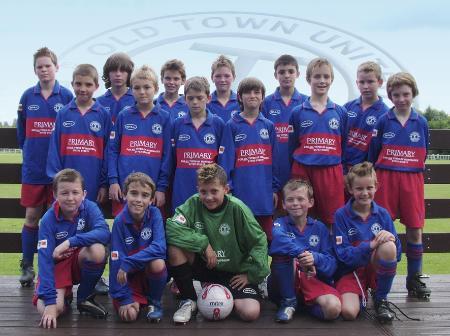 Old Town Utd under 12's