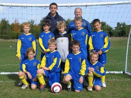 Wootton Bassett Town U10A Season 2005/6