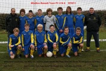 Wootton Bassett Town U14 A