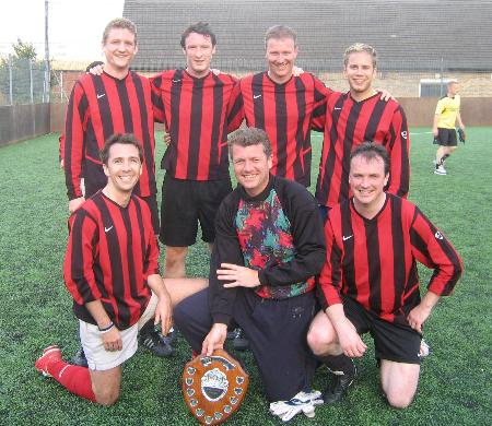 FIVE-A-SIDE CHAMPIONS 2005 - news image